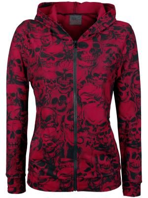 Wow this is awesome, I want this and its my favoriate color!!    Skull Hoodie von Queen Of Darkness