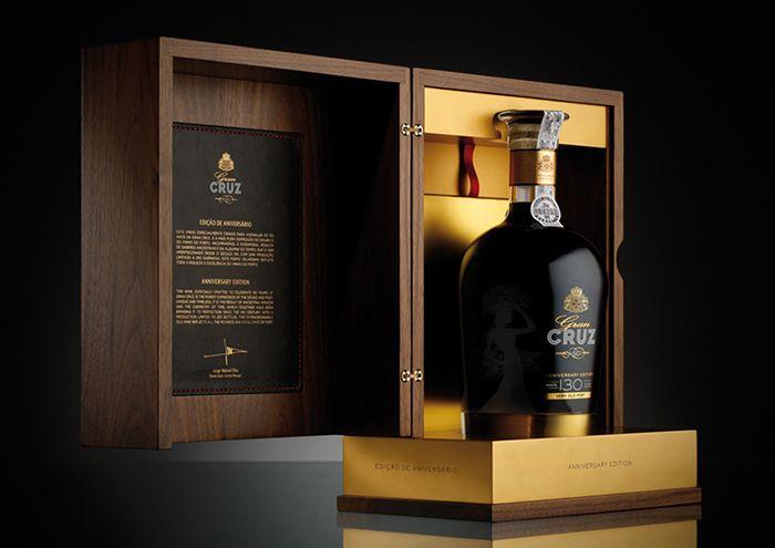 130yo Gran Cruz Alcoholic Beverages Package Inspiration Wine Packaging Creative Packaging Design Luxury Design Print