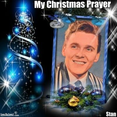 Billy Fury by Stanley Crickett. - My Christmas Prayer - a song written by Billy which should have reached No.1 in the charts.