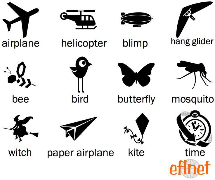 Things That Fly - Worksheet 1 | EFLnet