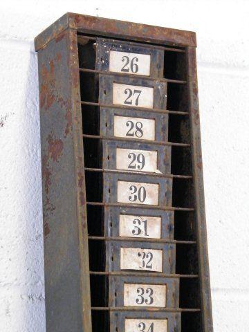 Best Vintage Time Clock Racks Images On   Clock