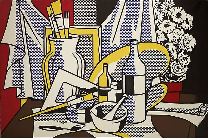 """Roy Lichtenstein's """"Still Lifes' is the first show that is solely dedicated to his still life paintings, sculptures and drawings, which span..."""