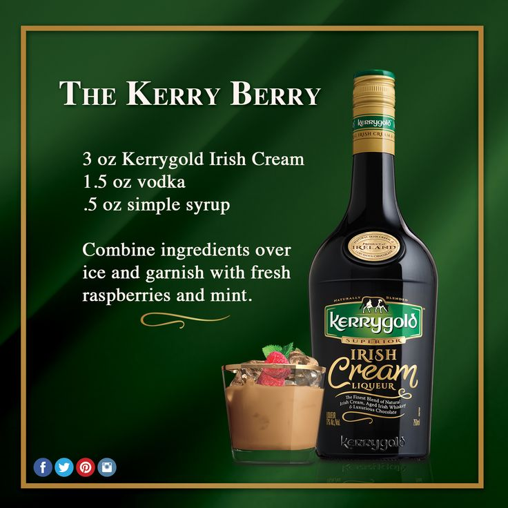 41 best kerrygold cocktails images on pinterest irish for Drinks with simple syrup and vodka