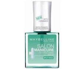 To Maybelline Salon Manicure Restructuring Serum είναι ένας ορός αναδόμησης για τα αδύναμα και εύθραυστα νύχια. Περιλαμβάνει πανθενόλη, γλυκερίνη και κεραμίδη και η πλούσια σύνθεσή του δρα στα βαθύτερα στρώματα των νυχιών, προστατεύοντας τα και ενισχύοντας την ανθεκτικότητά τους. Περιεκτ