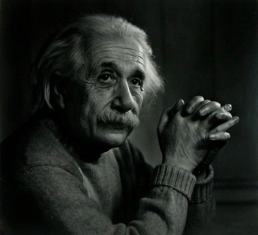 E = mc something or other ... all I know is that I like Yousuf Karsh's monochrome approach to portraiture!