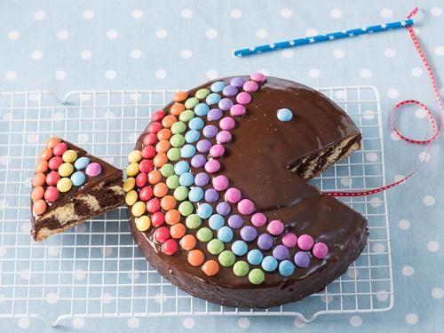 Rezept Zebrakuchen-Regenbogenfisch