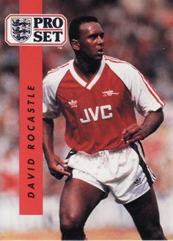 1990-91 Pro Set English League #9 David Rocastle Front