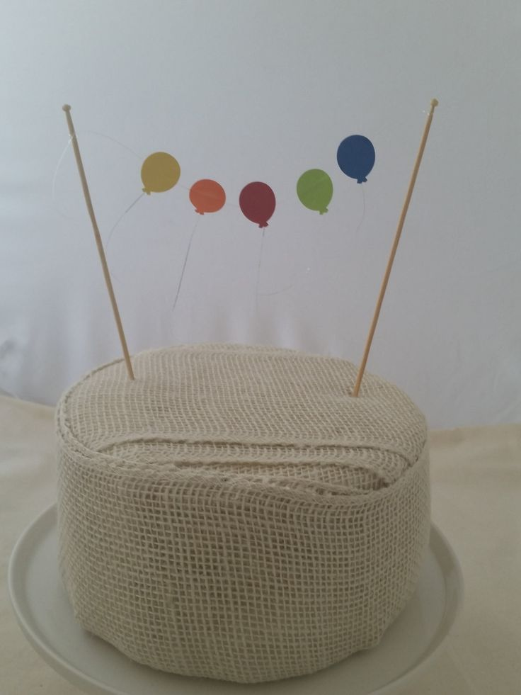 Up Up & Away Balloon Cake Topper/Bunting by Bebebundlebags on Etsy