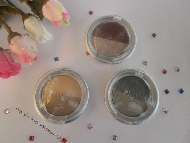 PRIVE Metallic Wet & Dry Eye-Shadow Duo