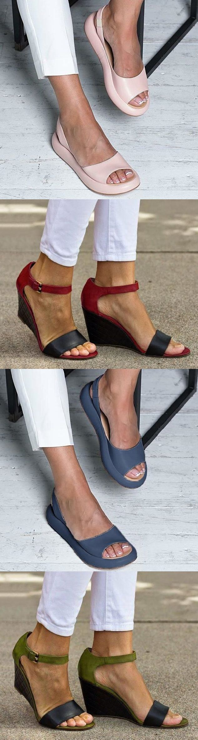SHOP NOW>>70% OFF Comfy Wedge Fashion Sandals Slippers.Must Have It!