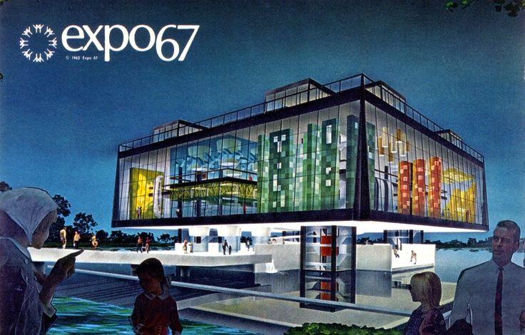 Expo '67 Padiglione Quebec