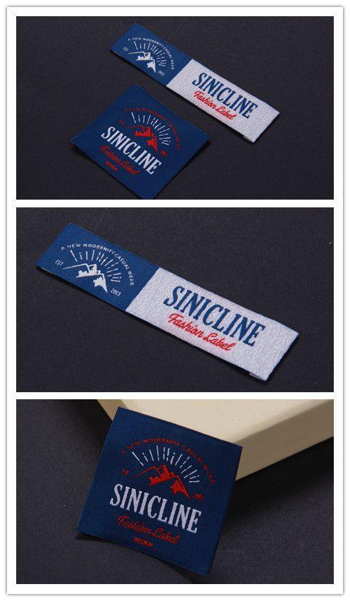 Sinicline 2016 latest woven label designs.   #wovenlabels #fabriclabel #labeldesign