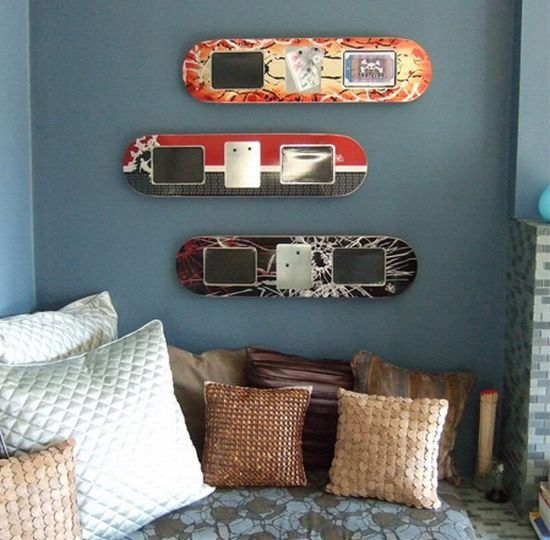 skateboard bedroom skateboard furniture skateboard shelves skateboard