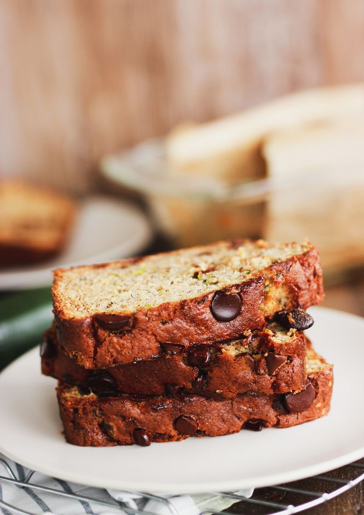 zucchini chocolate chip banana bread  confessions of a