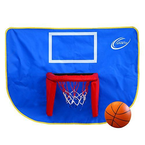 Skywalker Trampolines basketball Hoop and Ball Trampoline Accessory - http://www.exercisejoy.com/skywalker-trampolines-basketball-hoop-and-ball-trampoline-accessory/fitness/