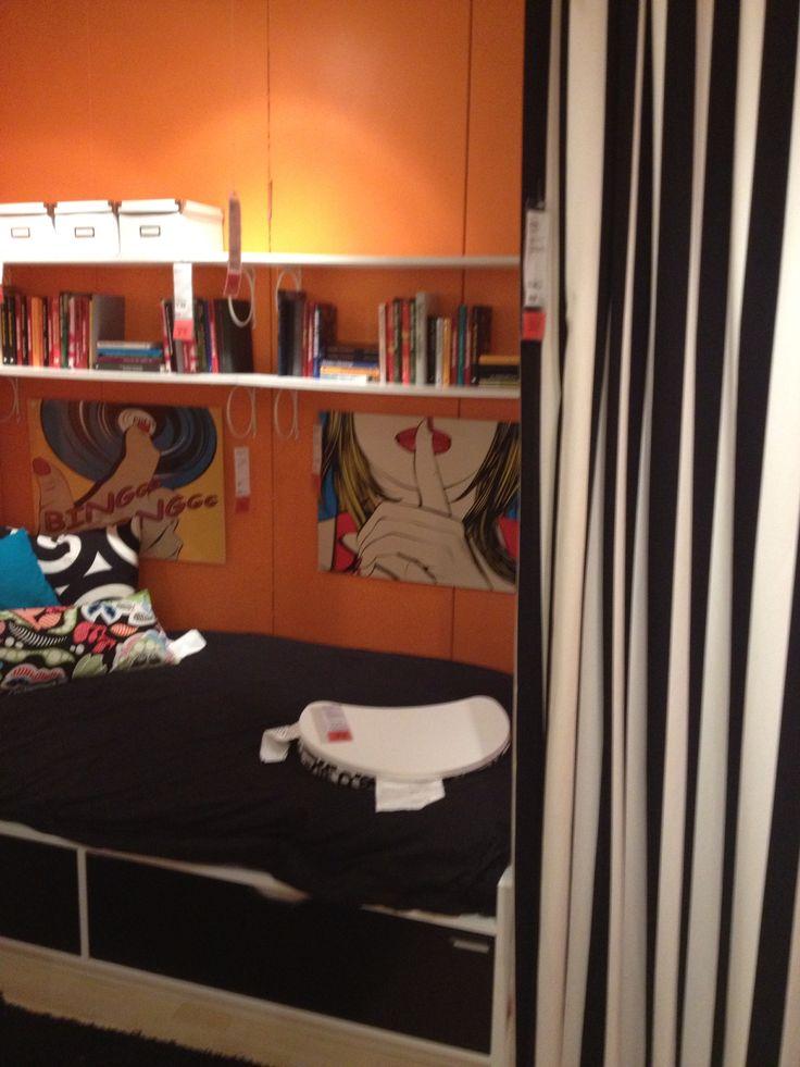 ikea flaxa bed olivia 39 s room pinterest. Black Bedroom Furniture Sets. Home Design Ideas