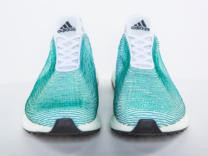Shoe Made From Recycled Ocean Trash