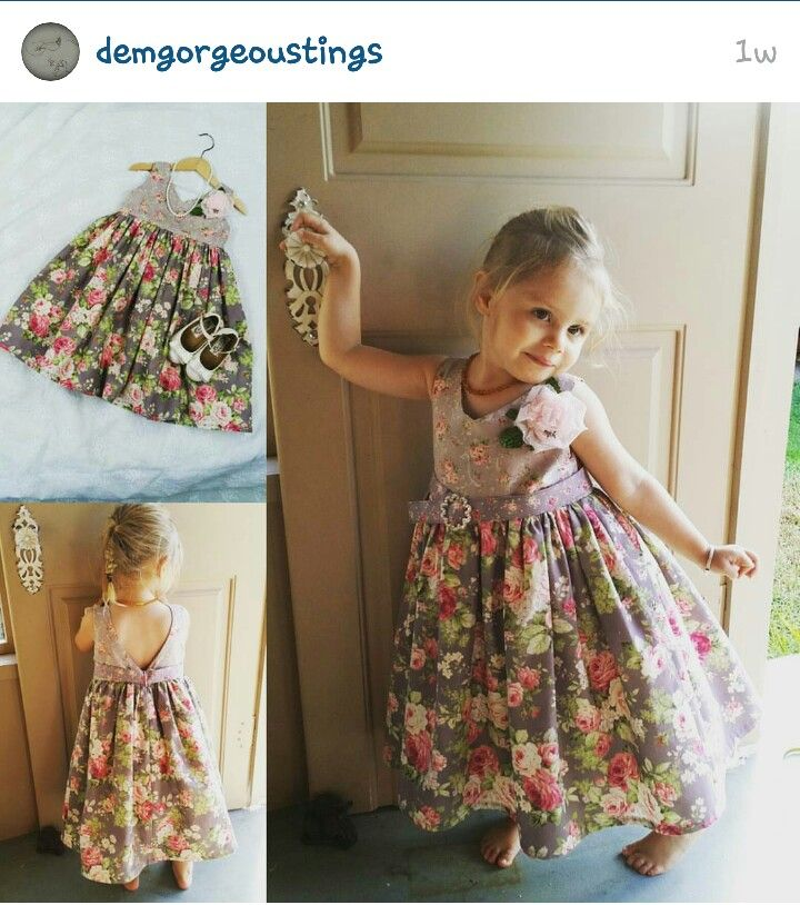 """Adele"" dress by DemGorgeousTings on instagram  #wahm  #handmade  #DemGorgeousTings"