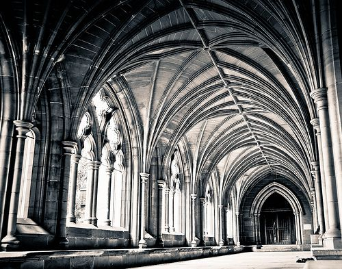 Cloisters, Lancing College