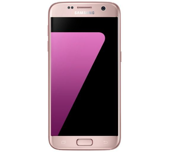 Buy Sim Free Samsung Galaxy S7 Mobile Phone - Pink Gold at Argos.co.uk - Your Online Shop for SIM free phones, Mobile phones and accessories, Technology.