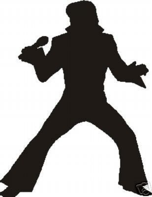 Fan Art of Silhouette for fans of Elvis Presley.