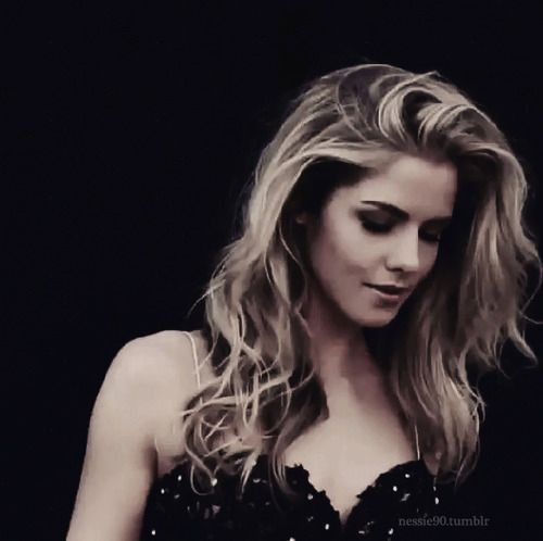 Emily Bett Rickards-this woman is stunning.