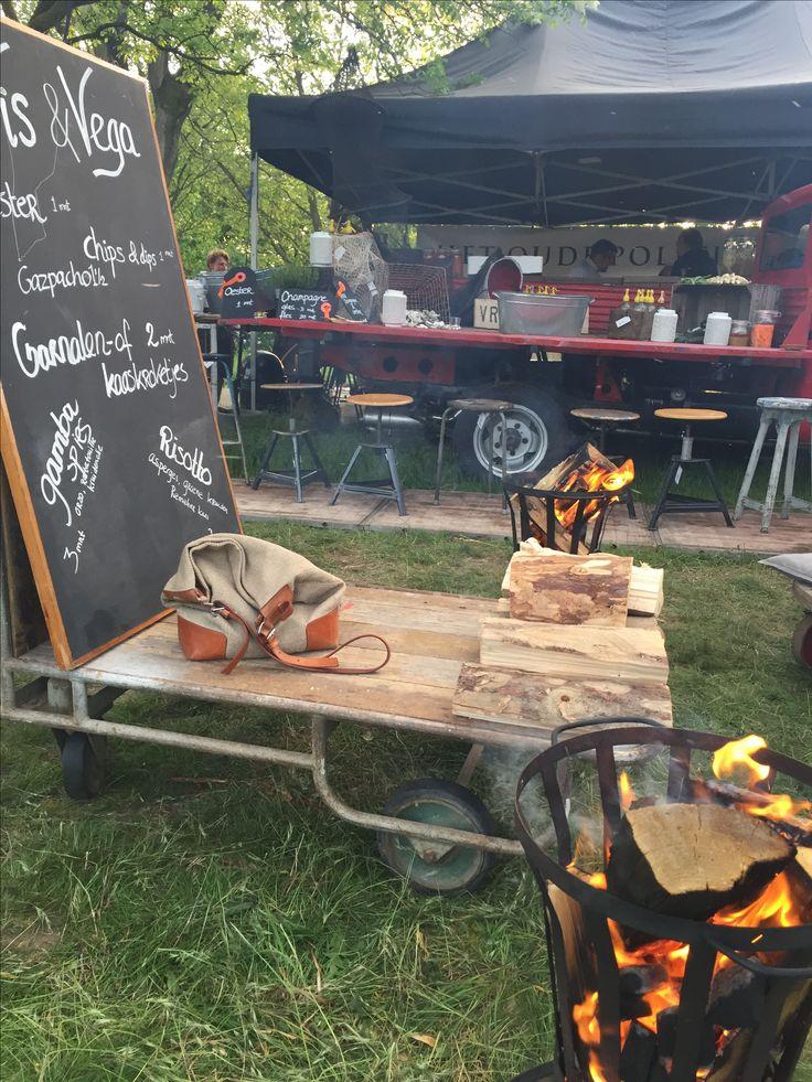 Eten op Rolletjes 2016 for restaurant Het Oude Politiebureau Foodtruck, styling and products by Vrieshuis14