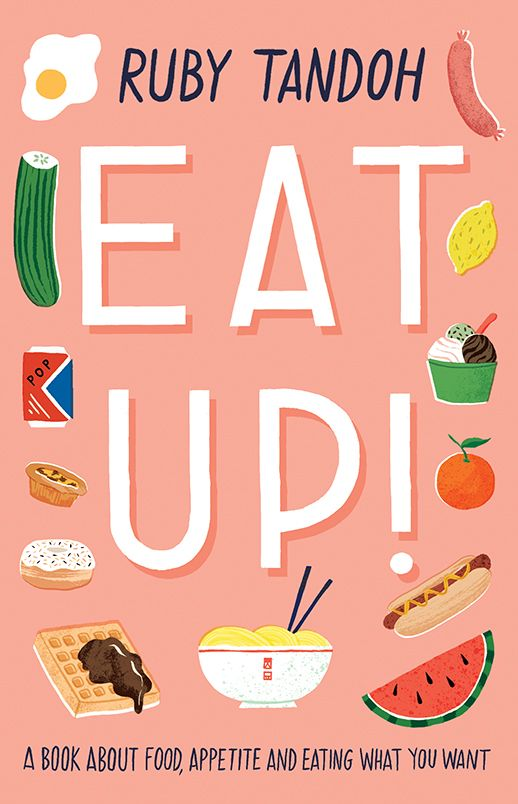 Cover illustration for EAT UP - Ruby Tandoh