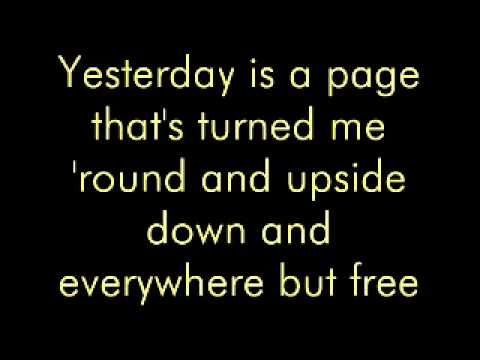 Yesterday by Jonny Diaz (w/ lyrics)