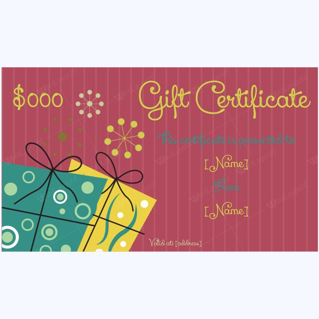 47 best Gift Certificate Templates images on Pinterest Gift - gift certificate voucher template