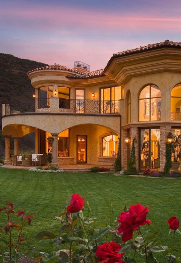 15 phenomenal mediterranean exterior designs of luxury estates - Luxury Home Exterior Designs