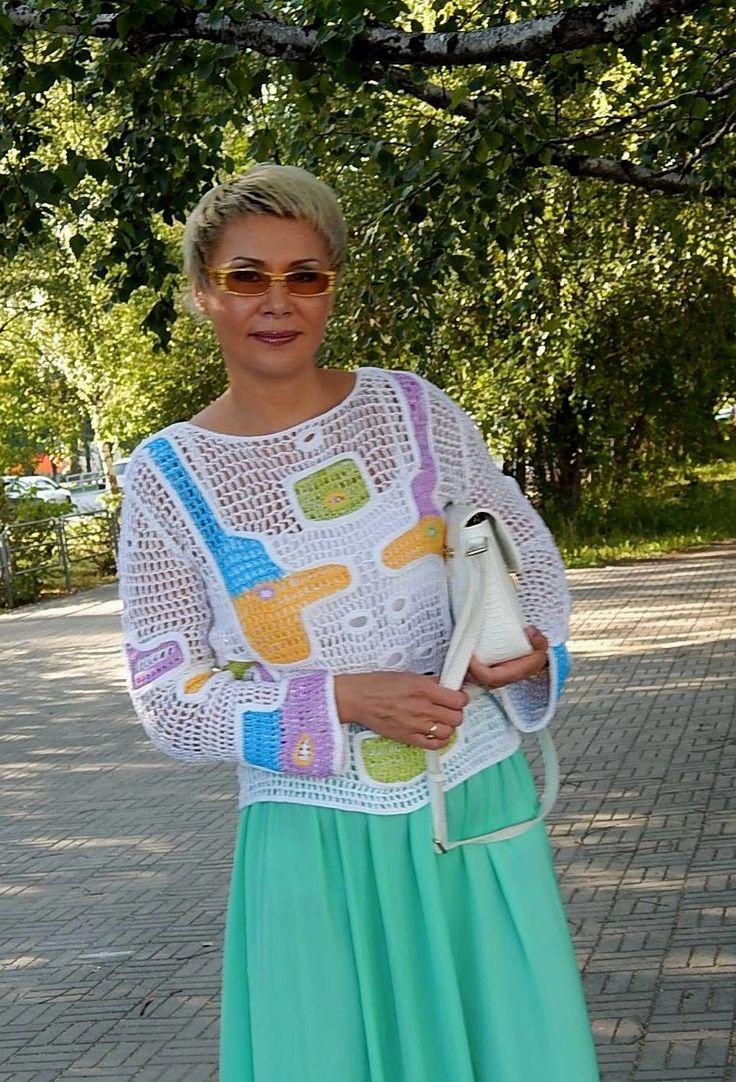 Наталья Филиппова (Агасиева) - АВТОРСКИЕ РАБОТЫ КРЮЧКОМ. НАТАЛИ. МИЛА САБИТОВА. | OK.RU