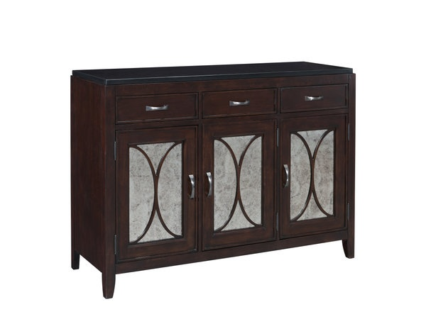 $830 - DAZ Furniture/Libertyville, Pulaski 510302 Plaza Square Buffet By The Chicago Furniture Store.