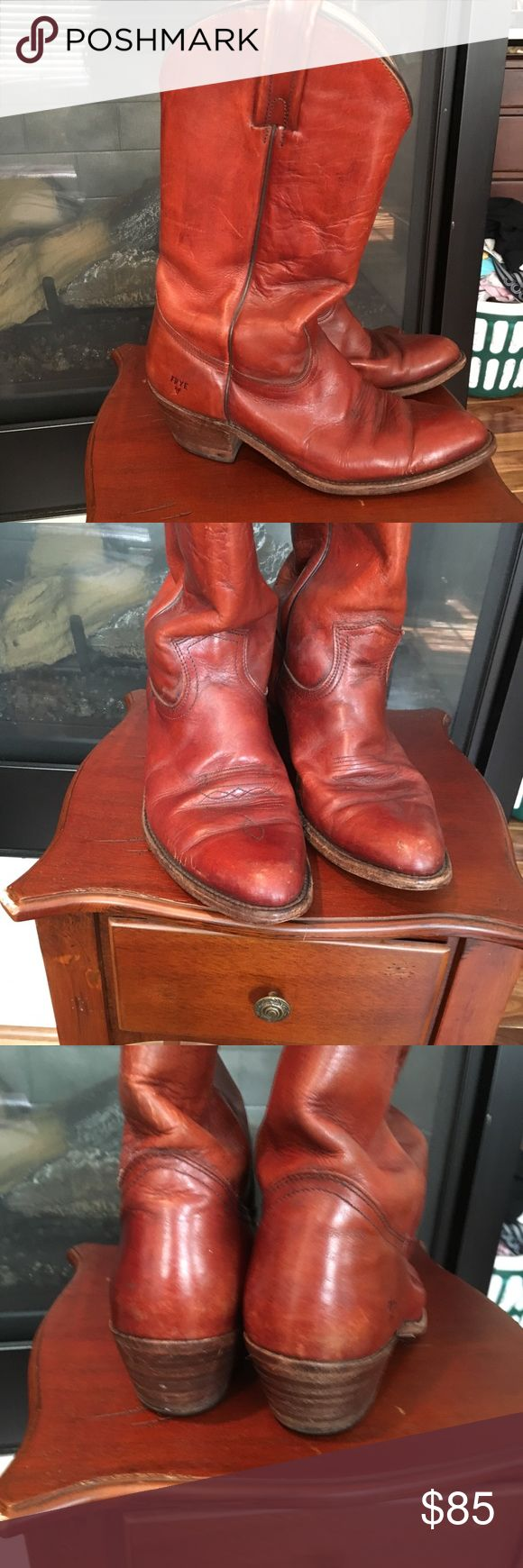Frye Cowboy Boots #2356 Frye Cowboy Boots #2356. Please note these are Men's size 10 Frye Shoes Cowboy & Western Boots