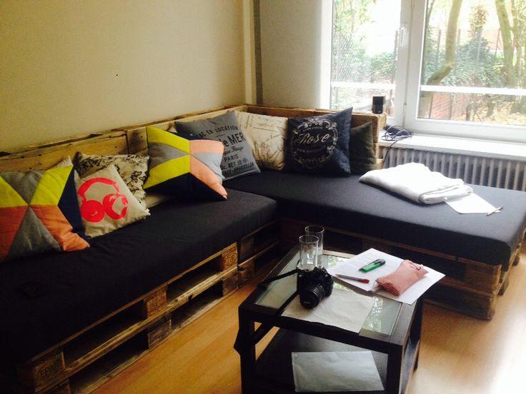 Europaletten Sofa Paletten Diy Doityourself Selber Gemacht Love Cosy Wohnzimmer