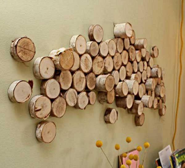 Faça você mesmo: 30 ideias para reutilizar troncos de árvores | Constru-Básico – Sua casa em um blog.