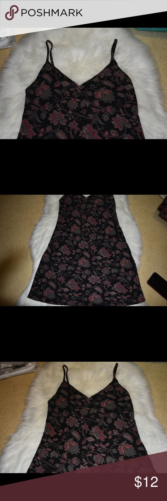 Brandy Melville Floral Thick Dress Brand new without tags! Brandy Melville J galt. No brandy tag but this is 100% authentic, purchased from a brandy Melville location. Brandy Melville Dresses