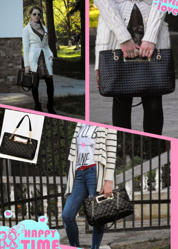 Customer (Andreia's) show: tote bag from us: http://goo.gl/1qIBa3