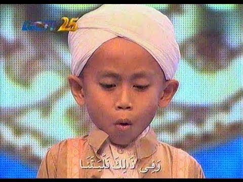 Hafidz Indoensia - Imam Aza QS. Al Qiyaamah - Babak Musabaqah 5 Besar - ...