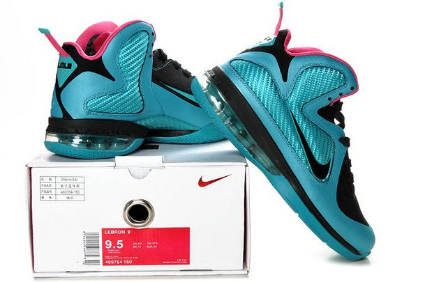 Free Shipping Only 69  Lebron 9 Royal Moon Black Pink 469764 160 6 ... 1f41ef08176b
