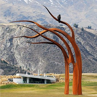 Mark Hill Sculpture Artist - Steel Sculptures, Outdoor Sculptures - Queenstown New Zealand