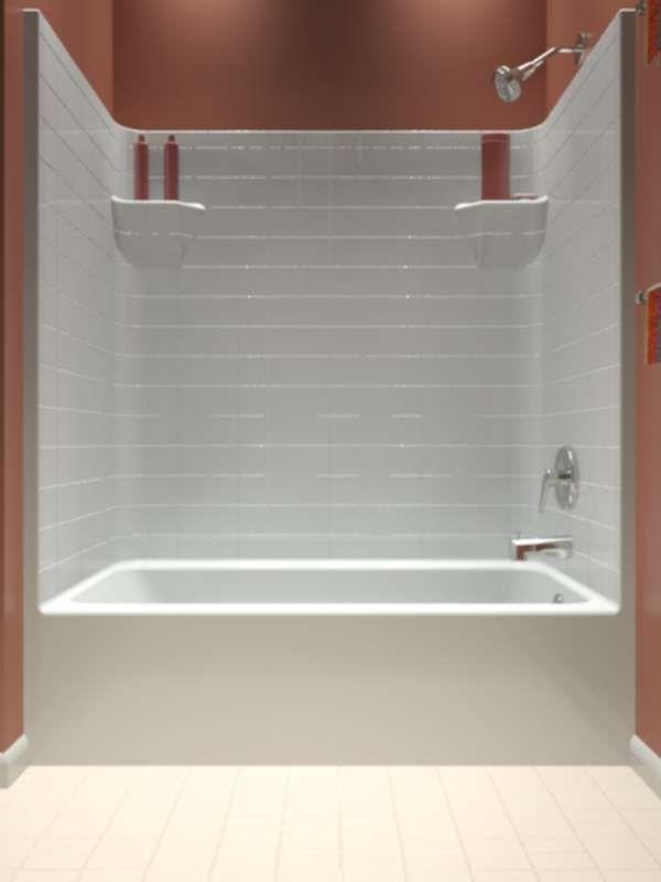 Best 25+ One piece tub shower ideas on Pinterest