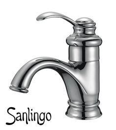 Pretty! And 40€! Retro Badezimmer Einhebel Bad Armatur Waschbecken Waschtisch Chrom Sanlingo