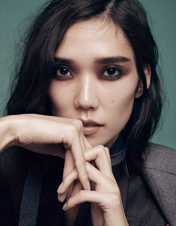 Tao Okamoto photographed by Benny Horne for Numéro TOKYO, December 2014. Manicure by Geraldine Holford.