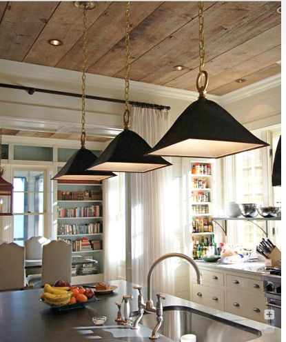 Always attracted to the combination of light colors, steel and wood textures working together.