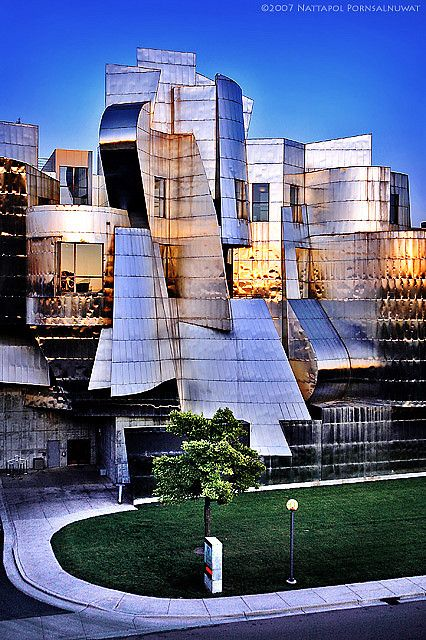 #architecture - Weisman Art Museum by Frank Gehry