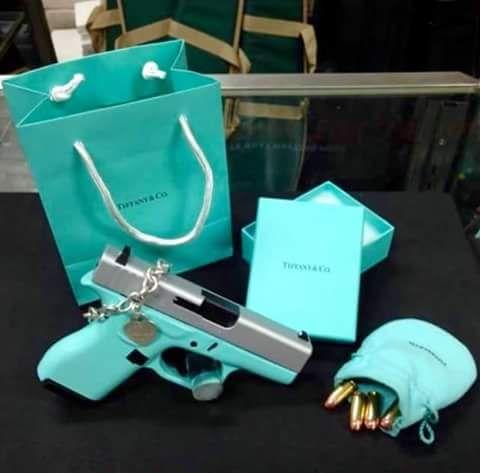 Tiffany gun and bullets