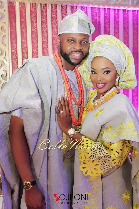 Aloaye & Tunde Yoruba Wedding in Lagos, Nigeria - BellaNaija 2015019