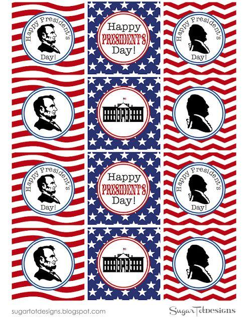 Presidents Day Printable