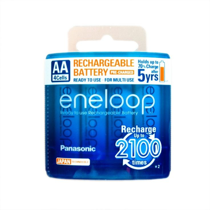 แนะนำตอนนี้<SP>Eneloop Rechargeable Battery AA รุ่น BK-3MCCE/4NT 4 ก้อน/แพ็ค (White )++Eneloop Rechargeable Battery AA รุ่น BK-3MCCE/4NT 4 ก้อน/แพ็ค (White ) (15 รีวิว) New Model 2,100 timesRechargeable. AA size high capacity maximum 2,000 mAh 1.2 V Remain 70% after 5 years  ...++